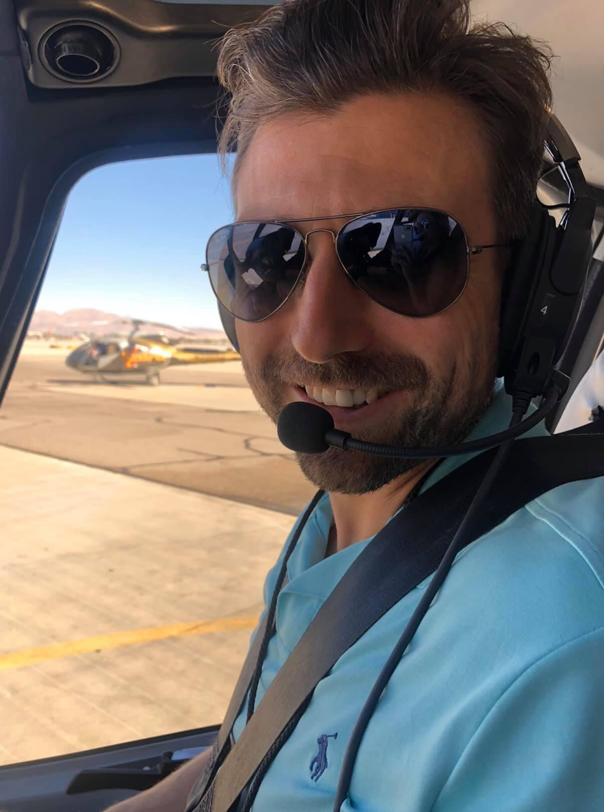 Helicopter pilot!